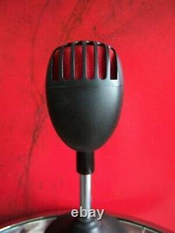 Rare Shure 55 Super 55-bcr Dynamique Microphone Cardioïde Rouge / Noir W Poche