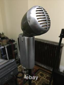 Shure 520sl Green Bullet Controlled Magnetic Microphone -w- Câble