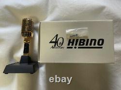 Shure 55sh Series-ii 40e Anniversaire Hibino Limited Micro Or MIC