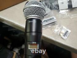 Shure Adx2/sm58 Transmetteur Numérique De Microphone Sans Fil Portatif Avec Sm58 470-616
