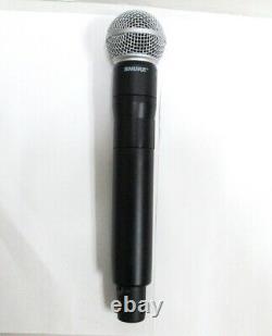 Shure Adx2fd Transmetteur Numérique De Microphone Sans Fil Sans Fil Sm58 Capsule G57