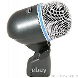Shure Beta 52a Supercardioid Dynamic Microphone Pour Kick Drum Upc 042406112833