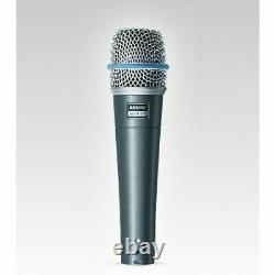 Shure Beta 57a Microphone D'instrument Dynamique À Haute Sortie