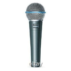Shure Beta 58 Microphone Vocal Dynamique Supercardioïde À Haut Rendement