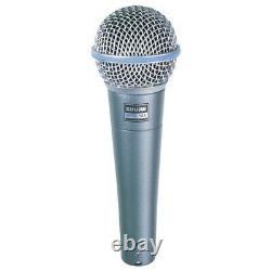 Shure Beta 58a Microphone Vocal Dynamique Portatif
