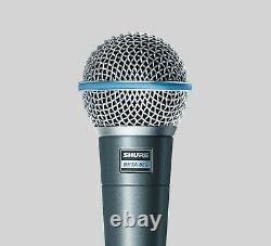 Shure Beta 58a Microphone Vocal Dynamique Supercardioïde Nouveau Dans La Boîte