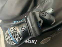 Shure Beta 58a Professional Vocal Dynamic Microphone Live Pa/studio MIC + Boîtier