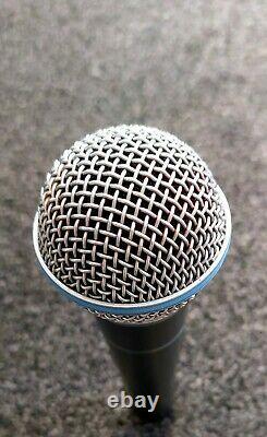 Shure Beta Sm58a Live & Studio Microphone Super Cardioid Condition Parfaite