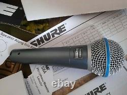 Shure Beta Sm58a Microphone Live & Studio Super Cardioid