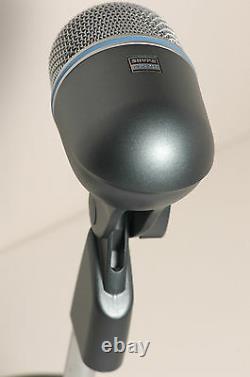 Shure Beta52 Kick Drum Microphone & 15' Cable Beta Beta52a 52 52a Micro Basse