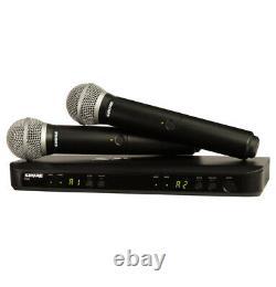 Shure Blx288/pg58 Système De Microphone Sans Fil Portatif Upc 0042406470216