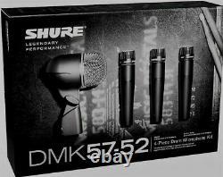 Shure Dmk57-52 Drum MIC Kit Flambant Neuf