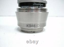 Shure Ksm8 Dualdyne Cardioid Dynamic Wireless Microphone Capsule, Nickel Rpw170