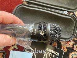 Shure Ksm8b Dualdyne Cardioïde Dynamique Vocal Microphone Filaire Noir