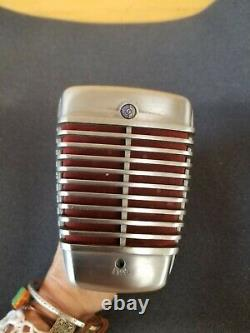 Shure Model 51as Vintage Microphone Dynamique Testé Et Travail