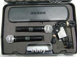 Shure Pg58 Microphone Double Sans Fil