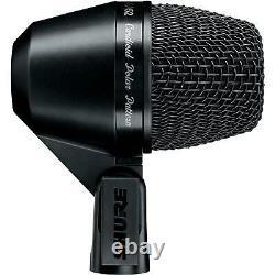 Shure Pga52 Kick Drum Cardioid Microphone Pivotant Avec Câble Xlr-xlr