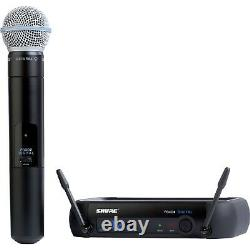 Shure Pgxd24/beta58a Microphone Portable Wireless System X8 Fréquence