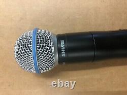Shure Qlxd2 Beta58a J50 572-636mhz Émetteur Portable Sans Fil Avec Poche Shure