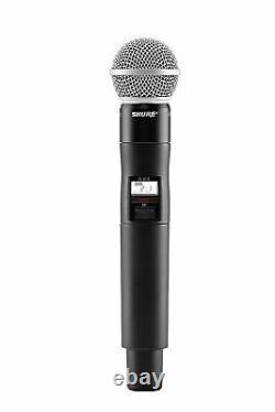 Shure Qlxd2/sm58 Émetteur Sans Fil Portatif Avec Microphone Sm58, G50