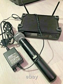 Shure Slx 4 Slx 2 (800-820mhz) Microphone Sans Fil Avec Sm58