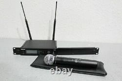 Shure Slx2 Slx4 Wireless Handheld Microphone System J3 572-596 Rack Mount Incl