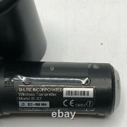 Shure Slx2 Sm58 Micro Sans Fil Portatif J3 572-596 Mhz