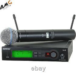 Shure Slx24/beta58 Système Vocal De Microphone Sans Fil Portatif