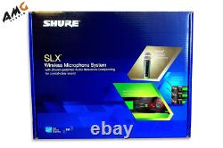 Shure Slx24/sm58 Wireless Handheld Microphone System Dual