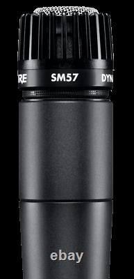 Shure Sm57 Cardioid Dynamic Wired Legendary Instrument Microphone