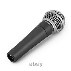 Shure Sm58 Dynamic Vocal MIC Avec Boom MIC Stand Et 6m 3-pin Xlr Cable