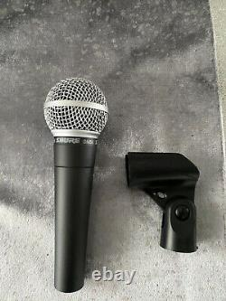 Shure Sm58 Microphone Filaire