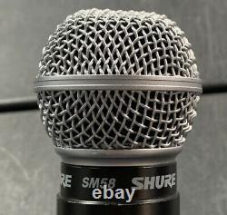 Shure Sm58 Modèle De Microphone Portable Sans Fil Ut2-th