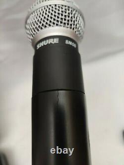 Shure Sm58 Ut2 Tc Band 603,900 Mhz Microphone Portable Sans Fil USA