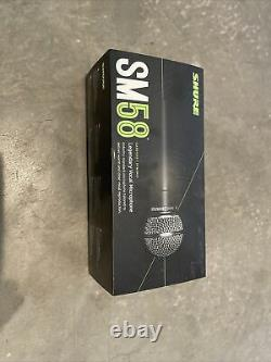 Shure Sm58-lc Microphone Professionnel Filaire Dynamique Xlr