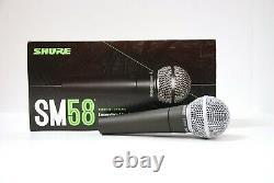 Shure Sm58-lc Microphone Vocal Dynamique Cardioïde