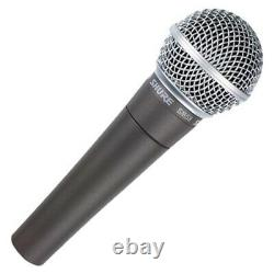 Shure Sm58-lc Professional Cardioid Dynamic Live Performance Vocal Microphone