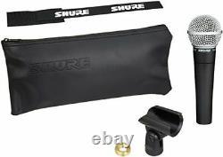 Shure Sm58-lce Microphone Dynamique Cardioïde Pas De Commutateur Enregistrement Performance En Direct