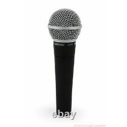 Shure Sm58lc Microphone Vocal Brand New Factory Seeled