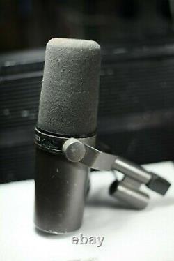 Shure Sm7 Microphone Original Première Révision Fabriqué En U. S. A. Vintage Model 1973