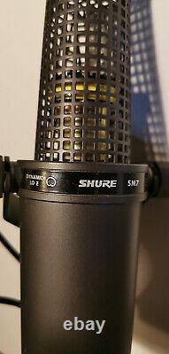 Shure Sm7 Version Originale! Avec L'affaire Road