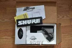 Shure Sm7b Cardioid Dynamic Vocal Microphone MIC Avec Boîte & Swag