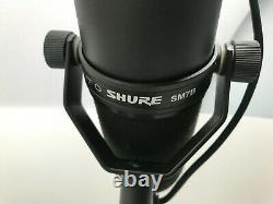 Shure Sm7b Cardioid Dynamic Vocal Microphone With MIC Stand And Xlr Cable