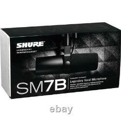 Shure Sm7b Grand Diaphragme Microphone Vocal Grand Valeur