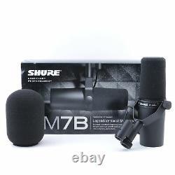Shure Sm7b Microphone Cardioïde Dynamique Mc-4922
