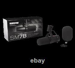 Shure Sm7b Microphone Vocal Cardioïde