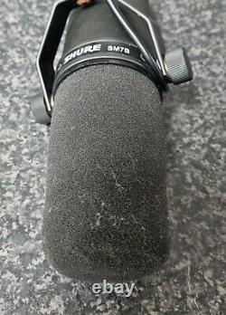 Shure Sm7b Microphone Vocal Dynamic Black & MIC Lead Livraison Rapide