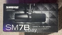 Shure Sm7b Microphone Vocal Dynamique Cardioïde