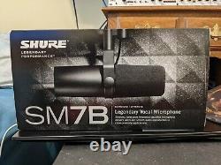 Shure Sm7b Microphone Vocal Dynamique Cardioïde Nouveau #3
