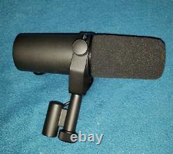 Shure Sm7b Vocal Dynamic Microphone, Cardioid, Noir